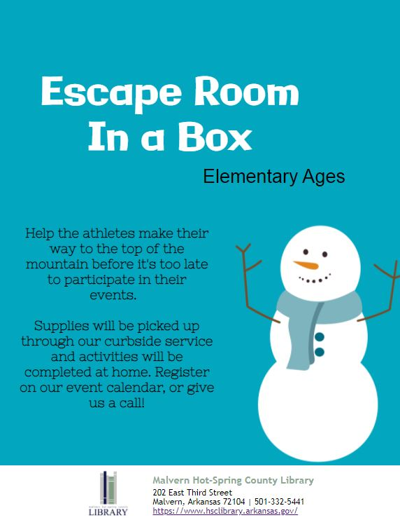 Escape Room in a Box - Elementary