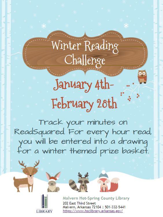Winter Reading Challenge