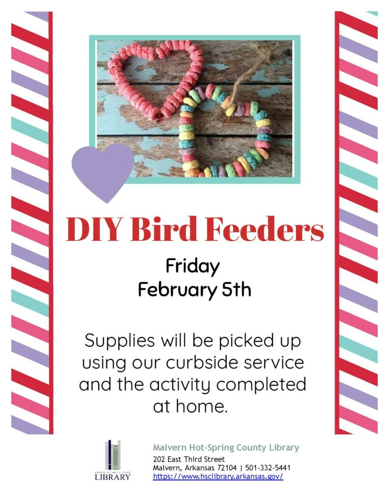 5 February 2021 - DIY Birdfeeders