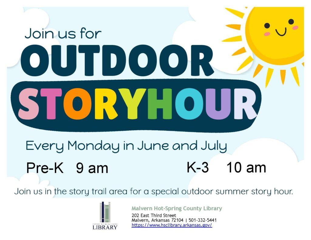 Mondays - Outdoor Story Hour